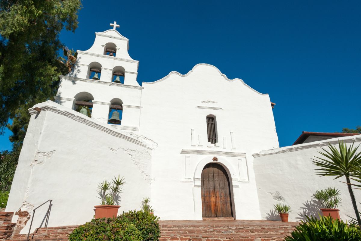 Visiting the Spanish Missions in California