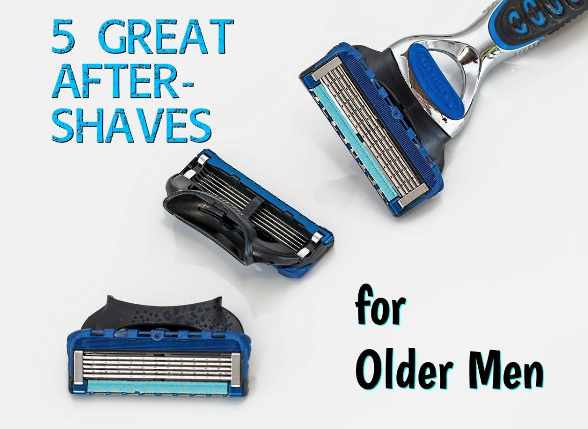 The Right Aftershaves for Older Men