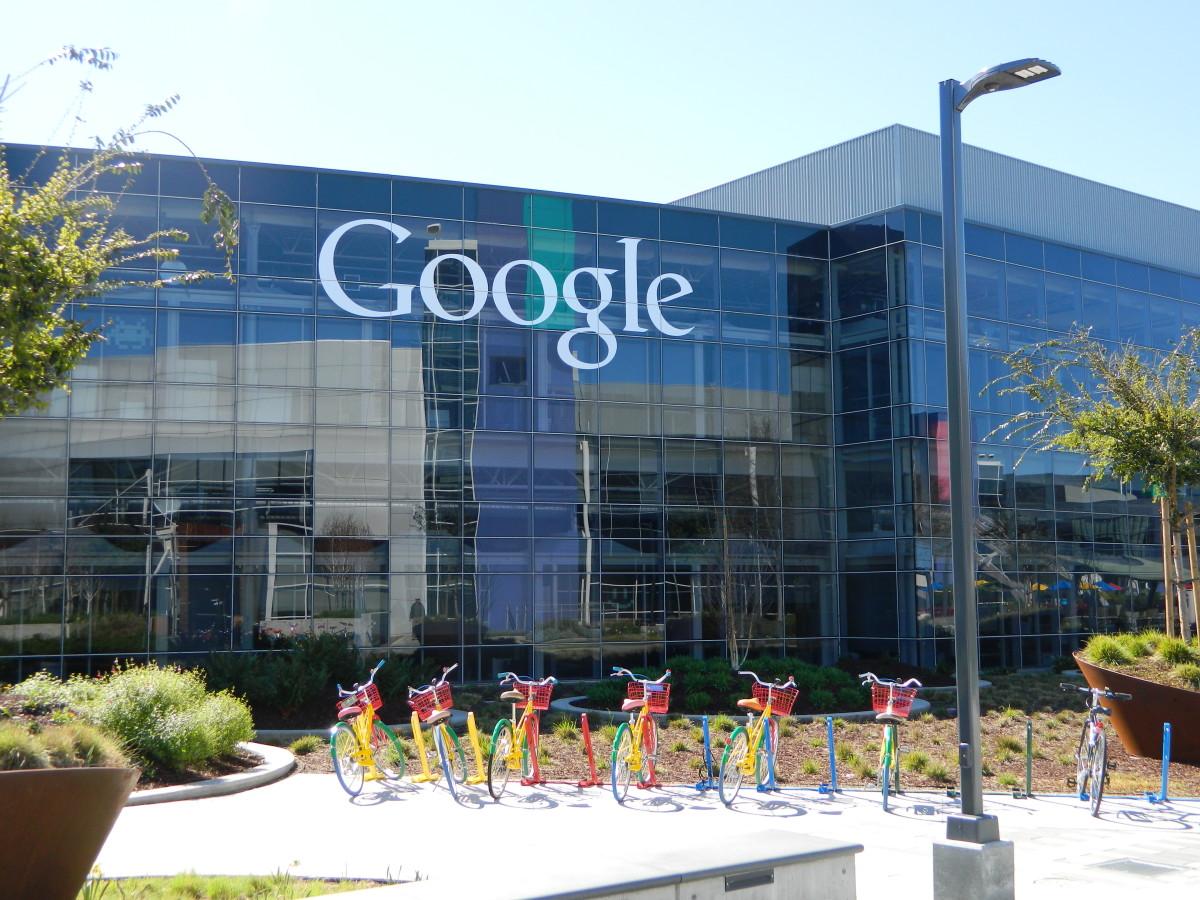 一个谷歌办公室。
