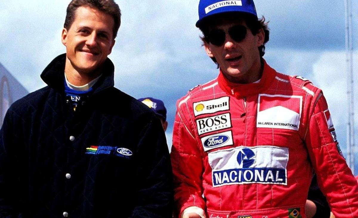 Winning Driving Styles: Michael Schumacher and Ayrton Senna