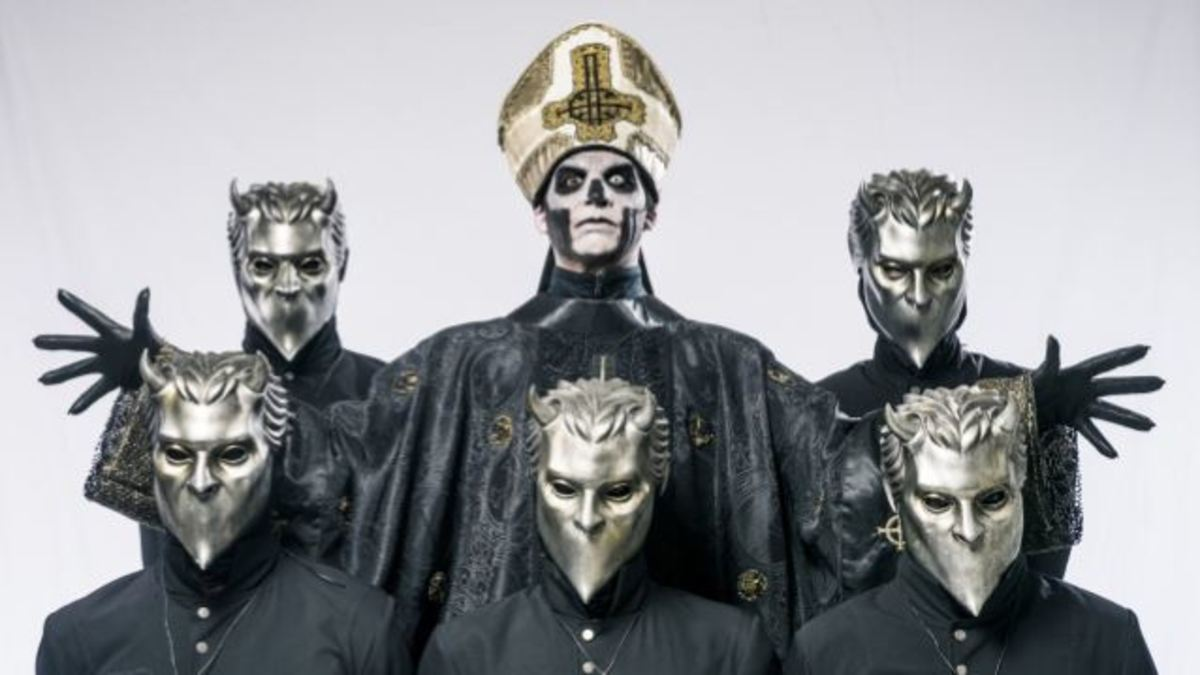 Swedish Metal Superstars Ghost, and Songs About Satan