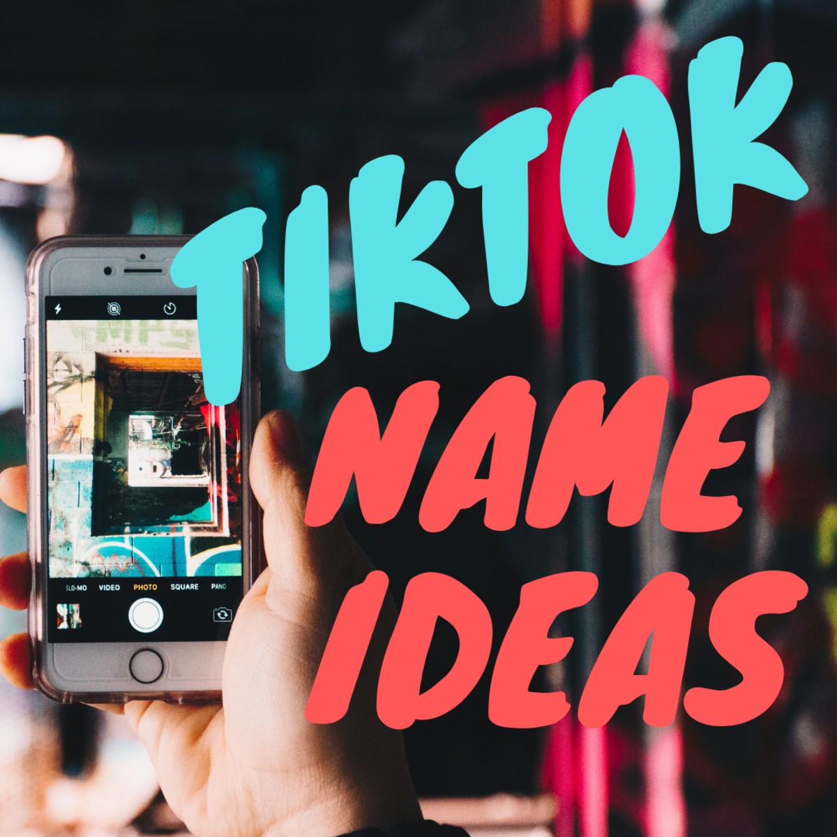200+ TikTok Username Ideas and Name Generator