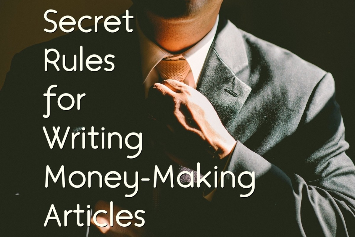 Make Money Online                With HubPages: How I Write Articles