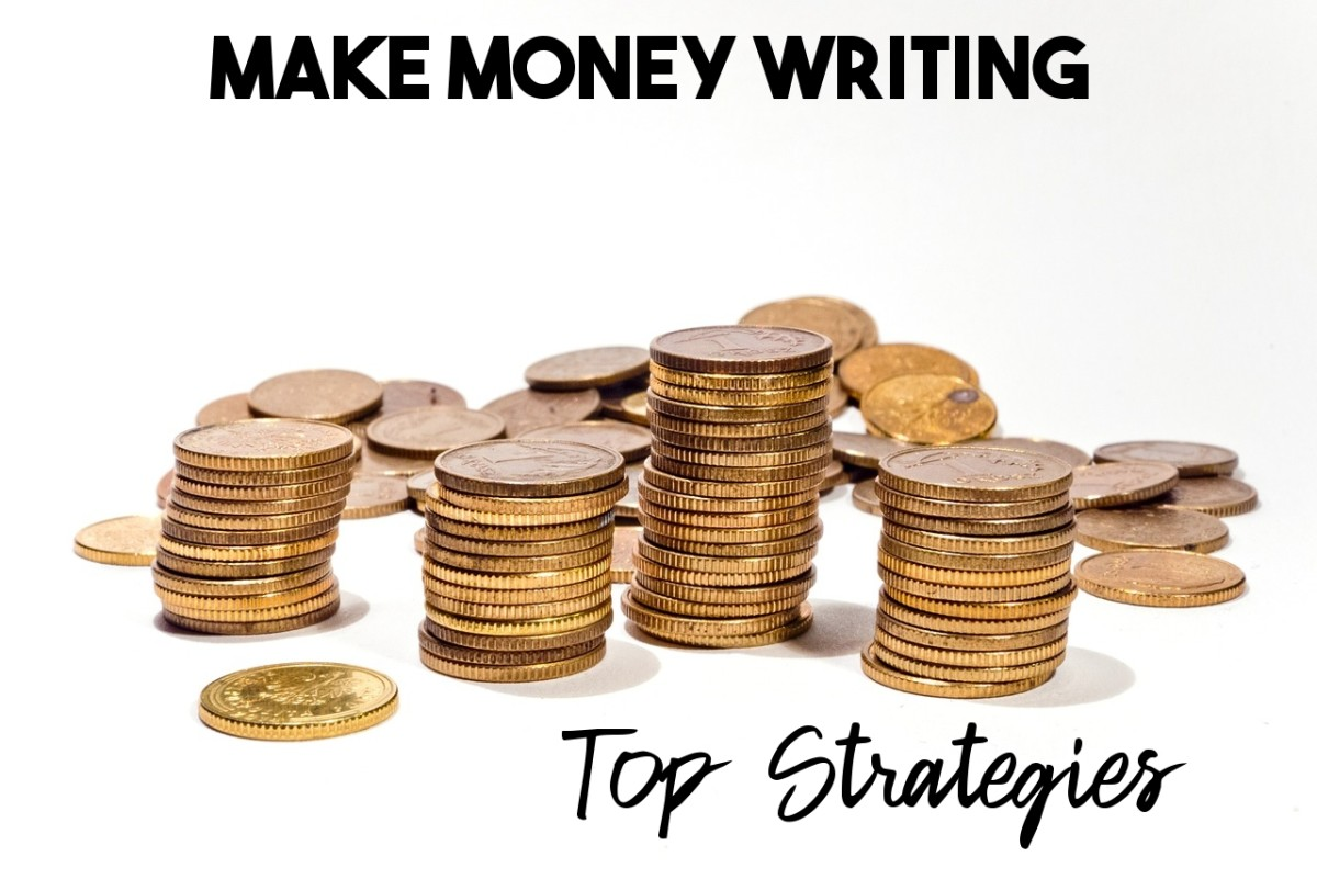 Here's how I make money writing articles online.