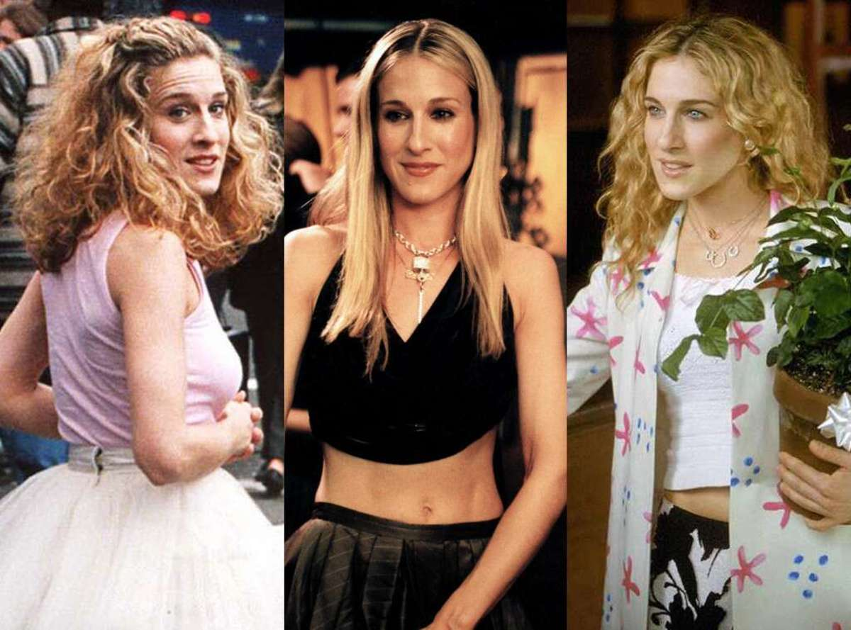 "Carrie Bradshaw's Top Ten Outfits From ""Sex and the City"""