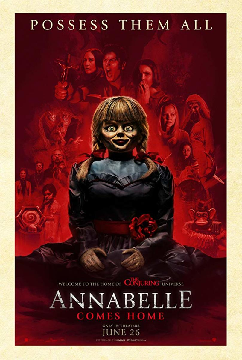 'Annabelle Comes Home' (2019) A Boogedy-Boo Movie Review