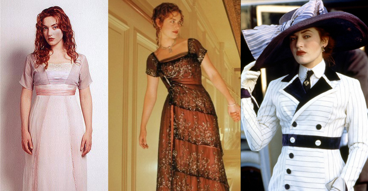 "Rose's Top Ten Fashion Moments in ""Titanic"""