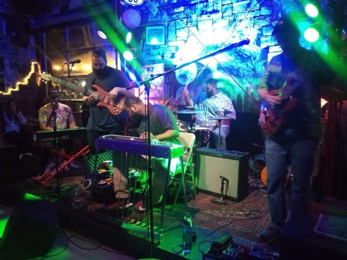 Marvelous Funkshun Plays at Dunedin Brewery