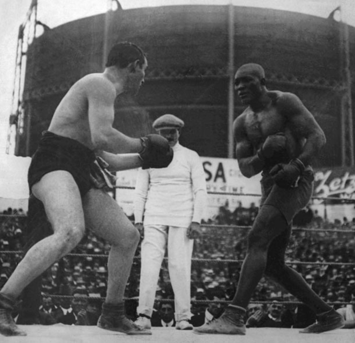 Jack Johnson's Fight for His Title and His Freedom