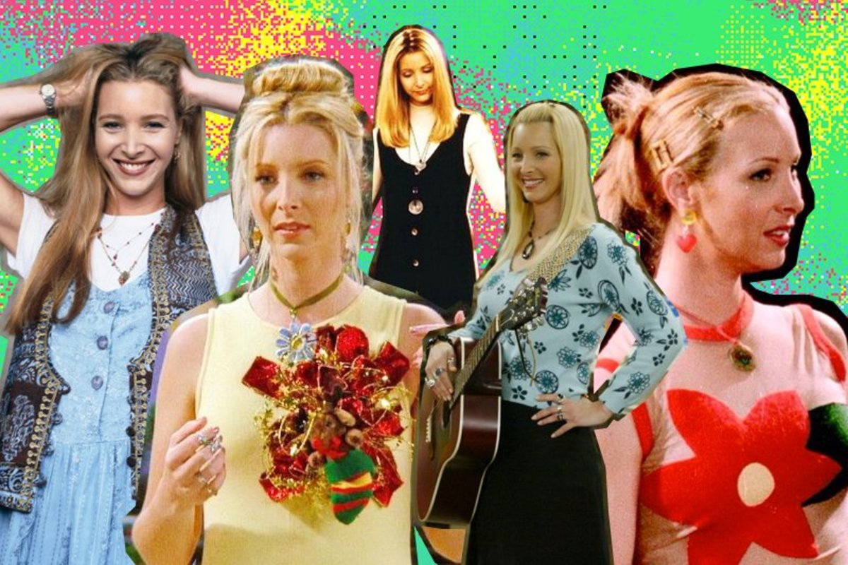"Phoebe Buffay's Top Ten Outfits on ""Friends"""