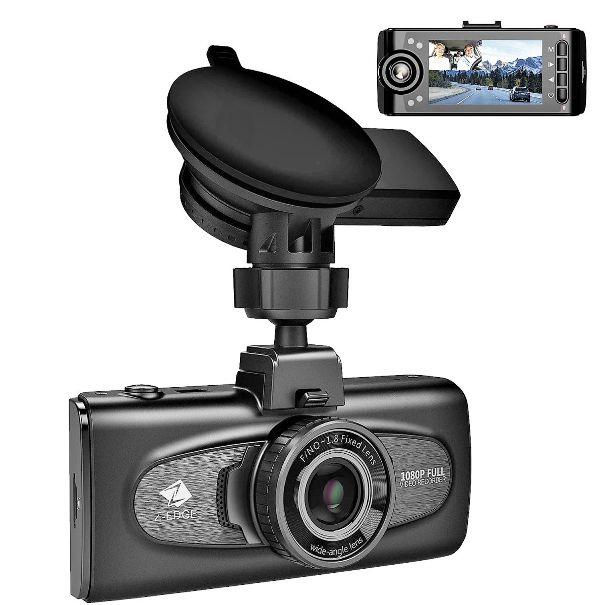 Z-Edge F1 Dual Lens Car Cam Review: Finest Auto Security Camera