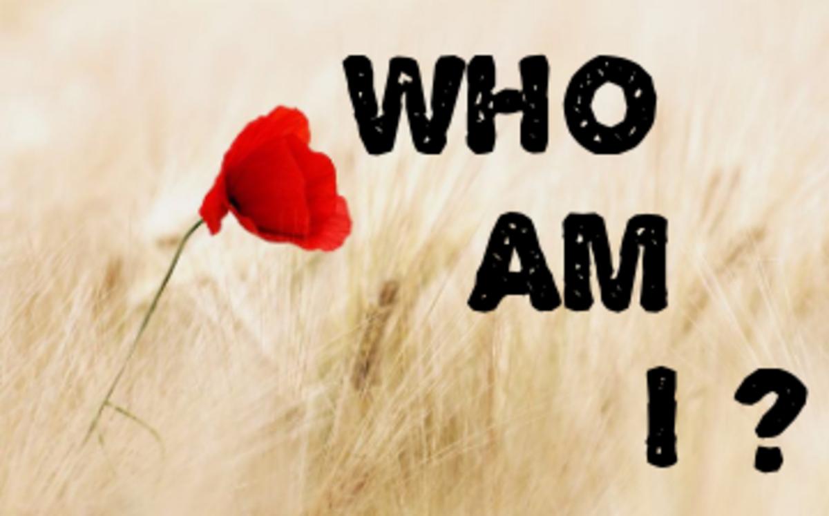 Poem: Who Am I ?