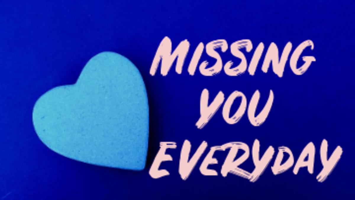 Poem: Missing You Everyday