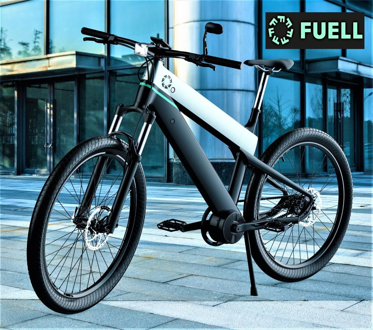 燃料流体电动自行车