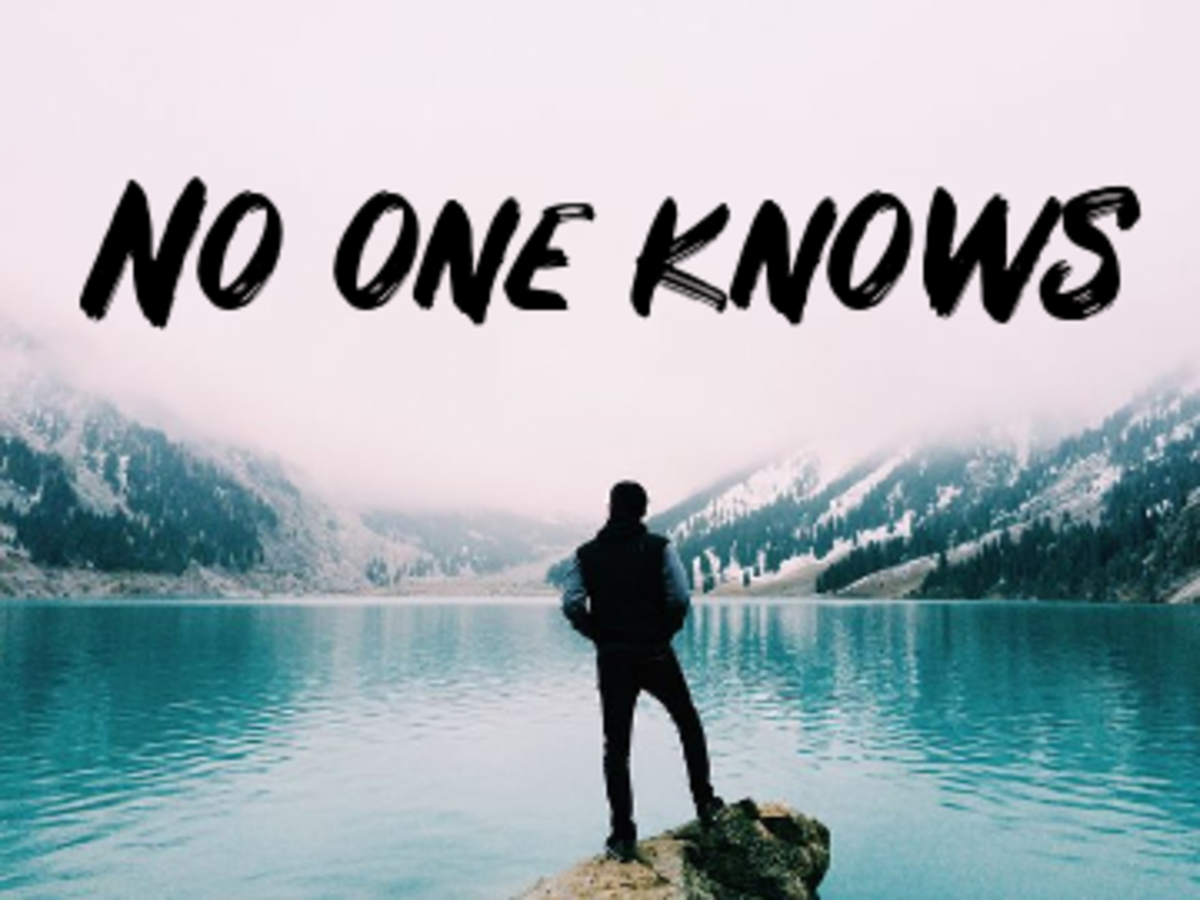 Poem: No One Knows About Life