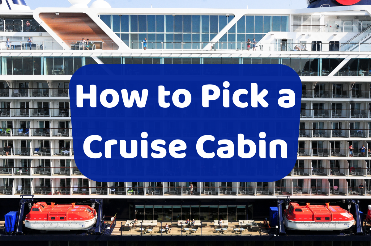 Cruise liners offer a host of cabin options, but which one is right for you? Here are six tips to help you choose.