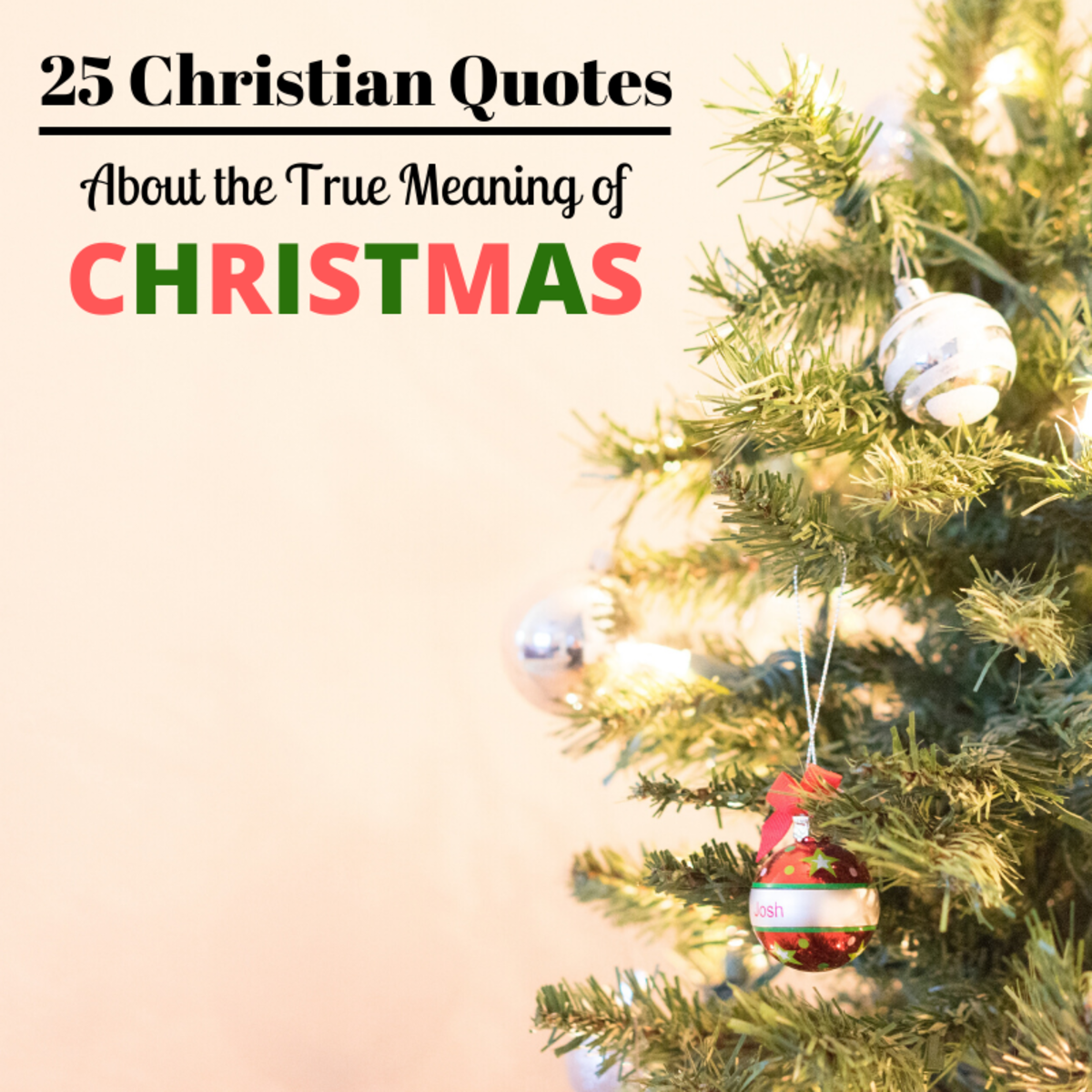 25 Christian Quotes About Christmas and