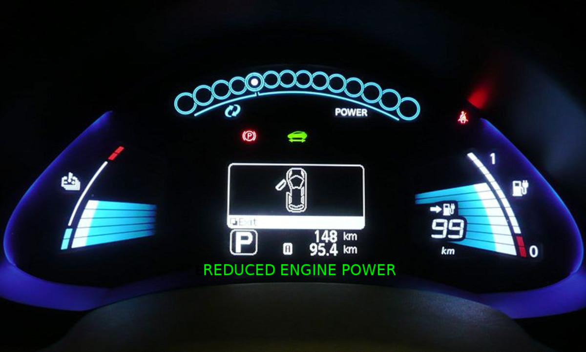 A number of issues can cause a Reduced Engine Power message.