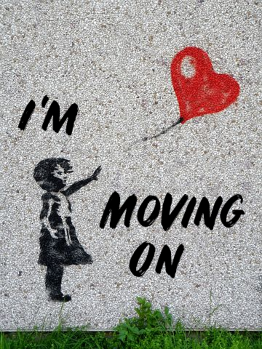 Poem: I'm Moving On