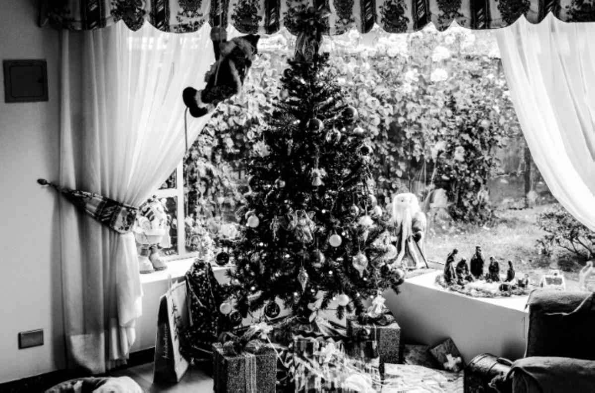 Western-influenced Christmas.
