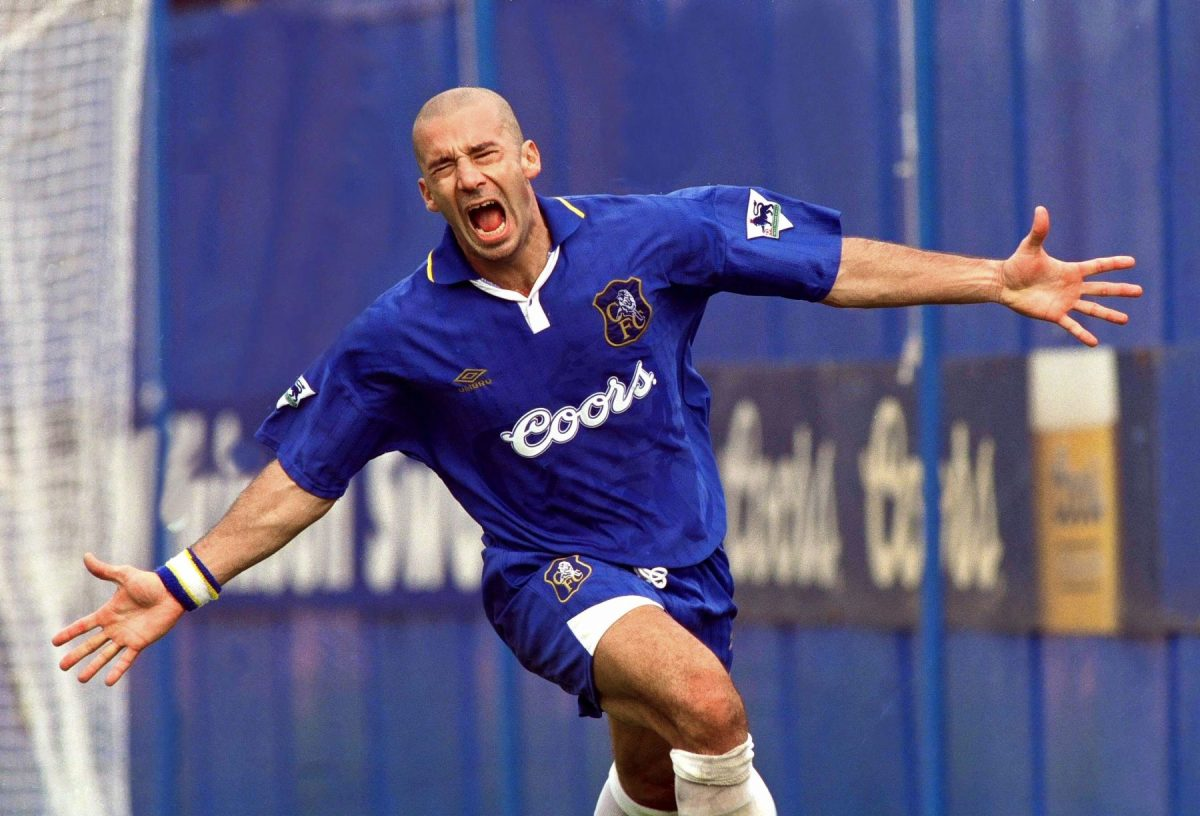 Chelsea legend Gianluca Vialli was seen as a new breed of striker in Italian football.