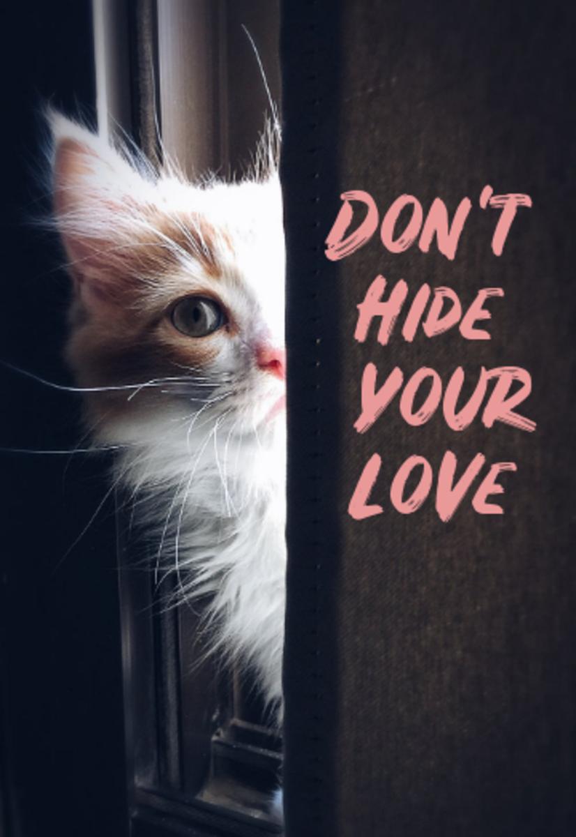 Poem: Don't Hide Your Love