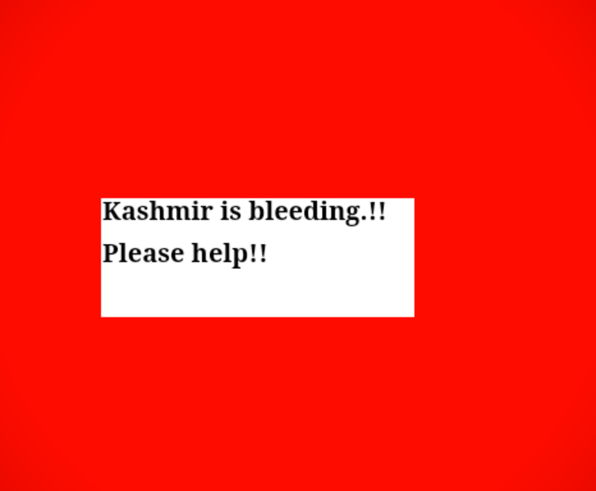 Kashmir is bleeding