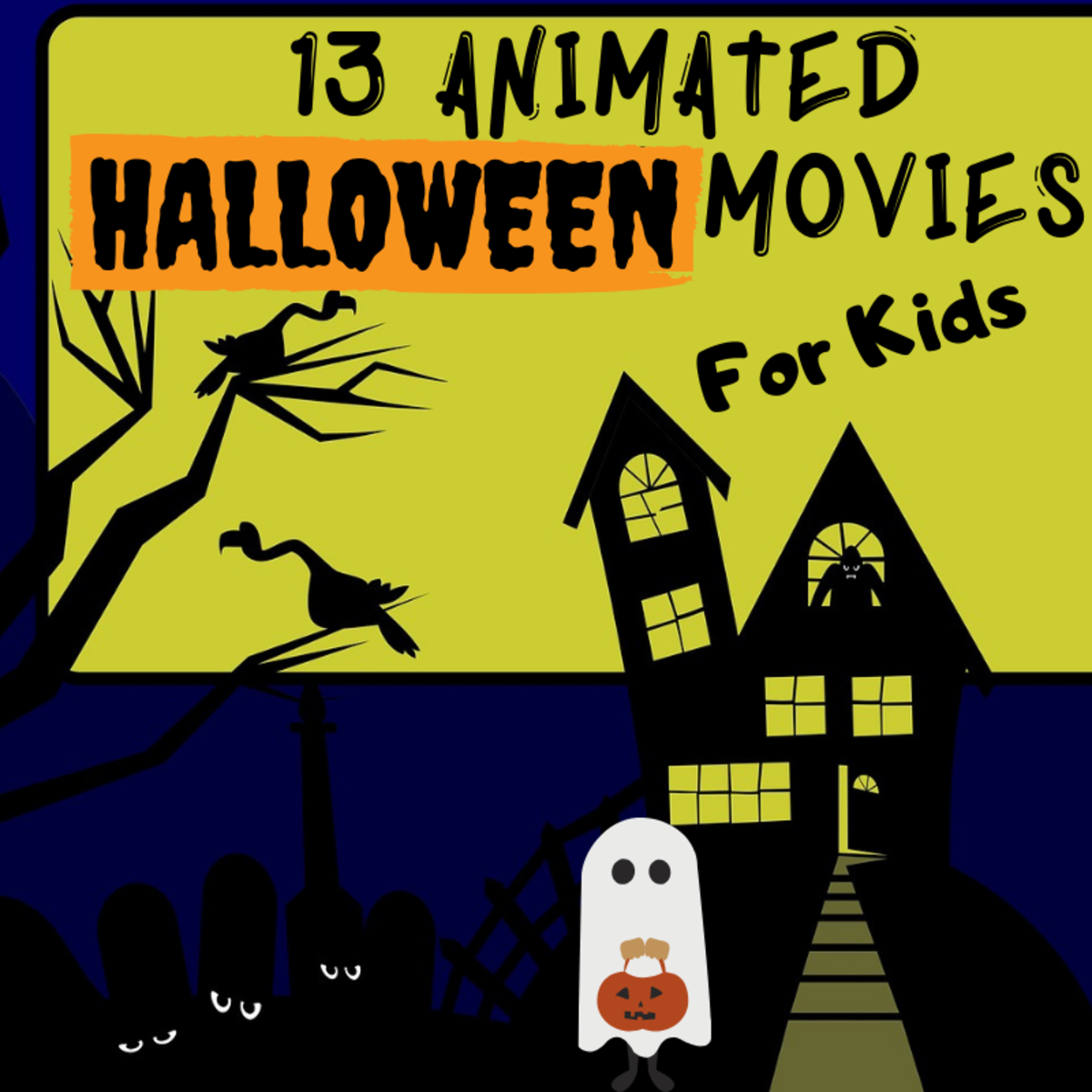 13 Best Animated Halloween Movies for Kids
