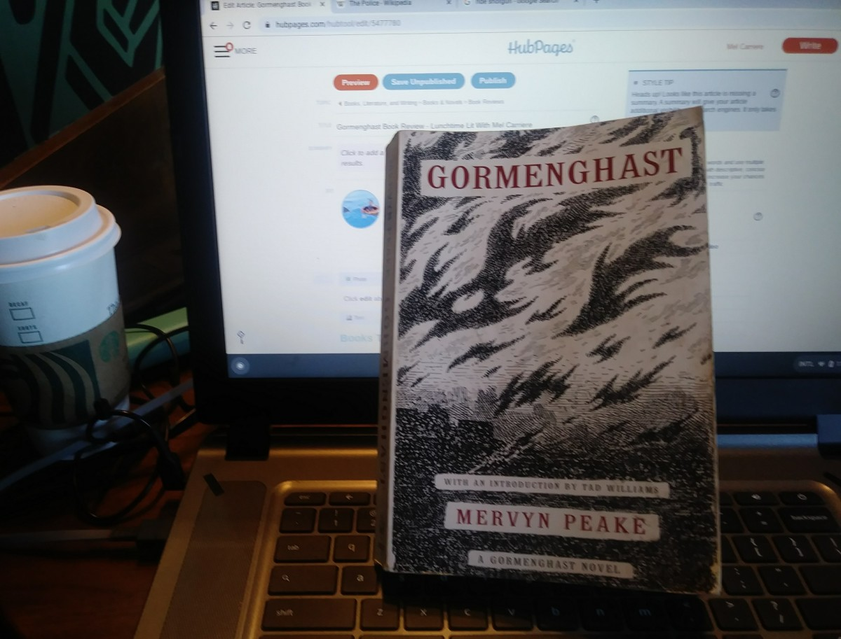 Gormenghast Book Review - Lunchtime Lit With Mel Carriere
