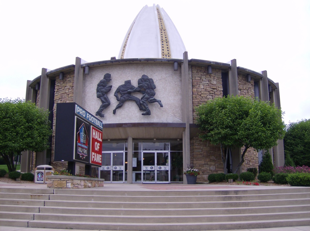 The Pro Football Hall of Fame is located in Canton, Ohio, and includes 21 inductees who played for the Cleveland Browns.