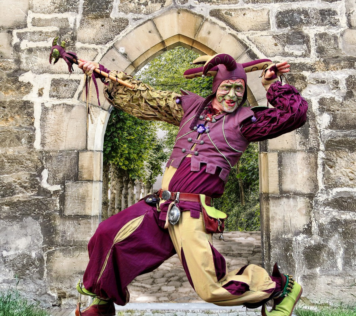 The Jester - a Medieval Poem