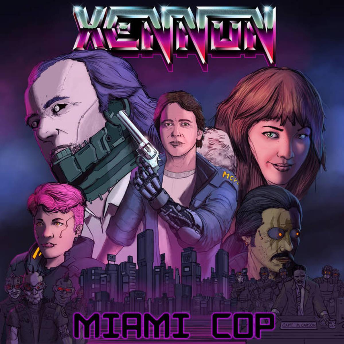 #synthfam Album Interview: MIAMI COP by XENNON