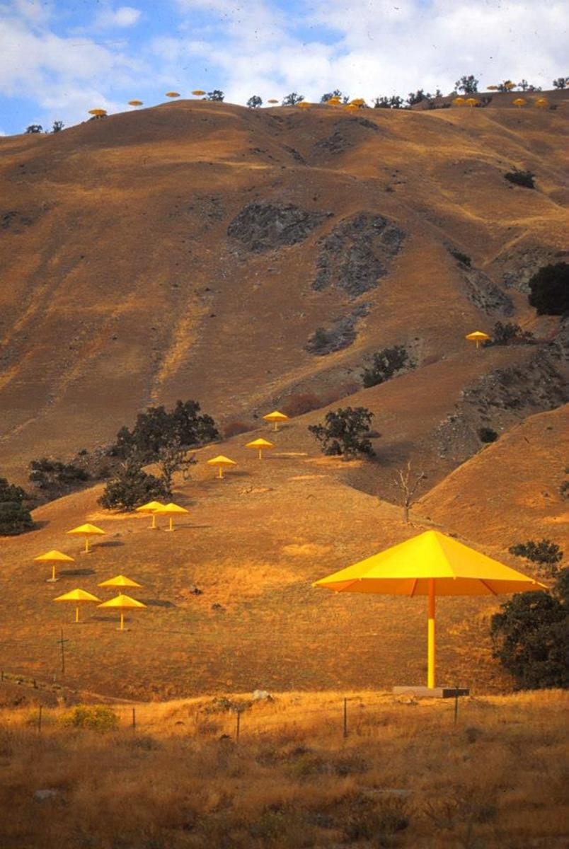 Christo's Umbrella Project: Art and Environment