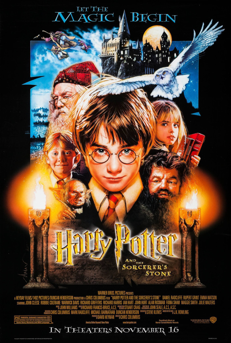 "Movie Review: ""Harry Potter and the Sorcerer's Stone"""
