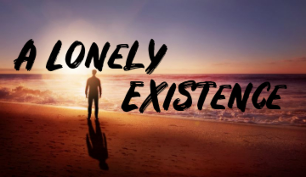 poem-a-lonely-existence