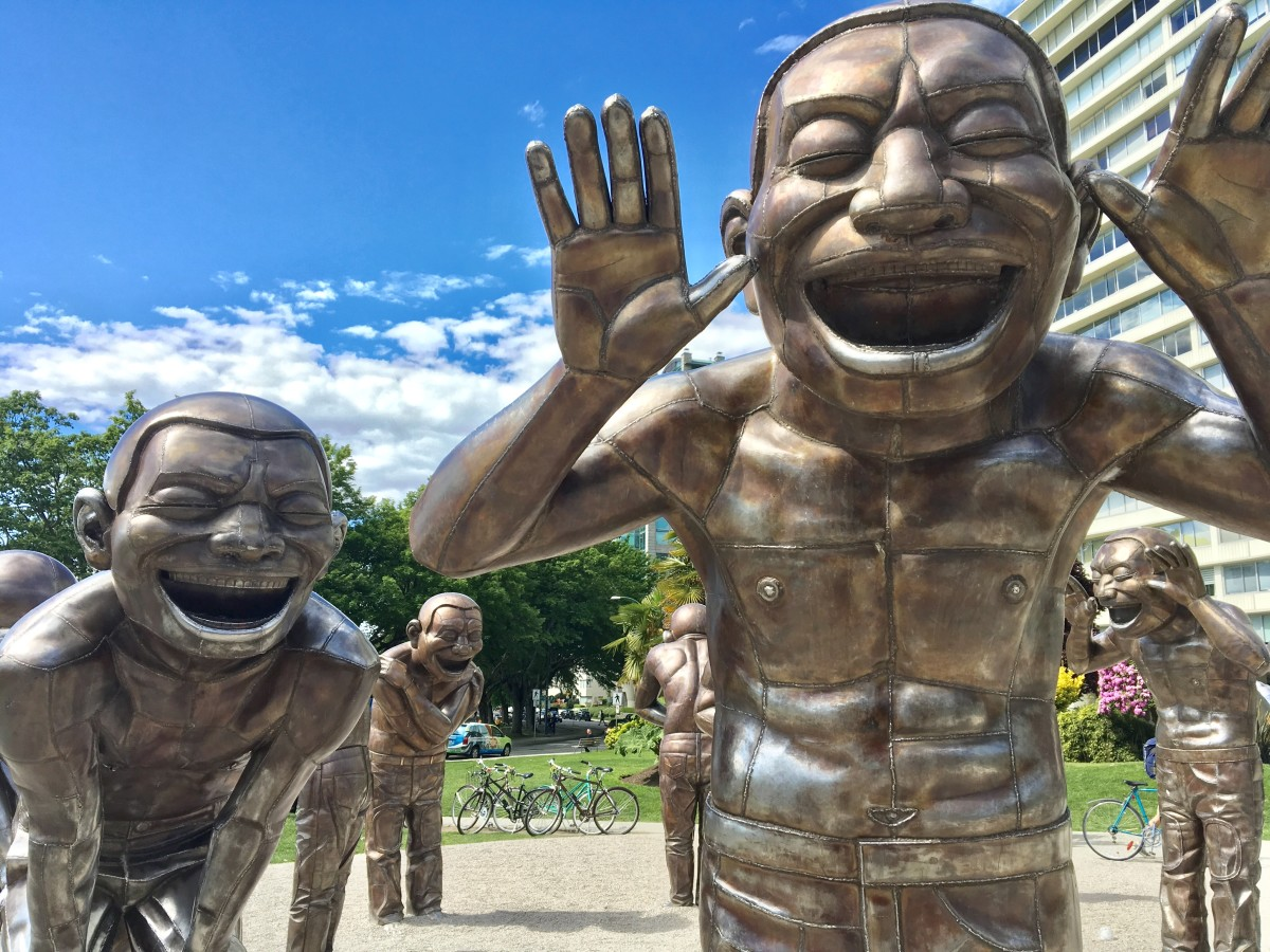 Public Art in Vancouver: Four Sculptures Near Stanley Park