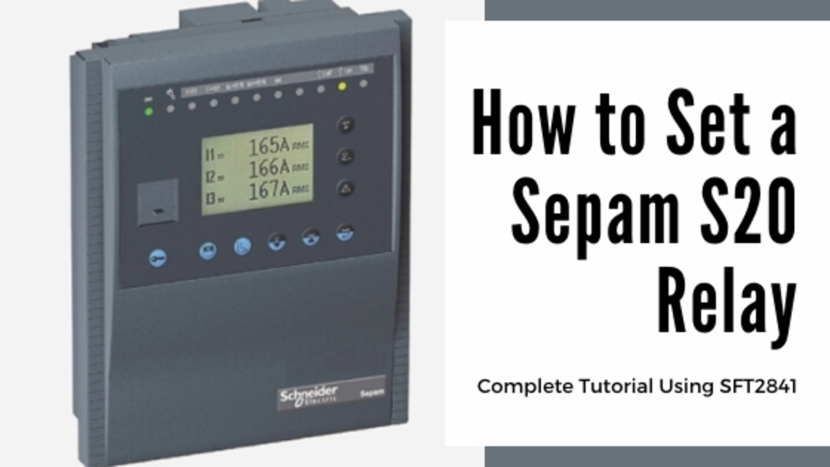 The Sepam S20 Relay