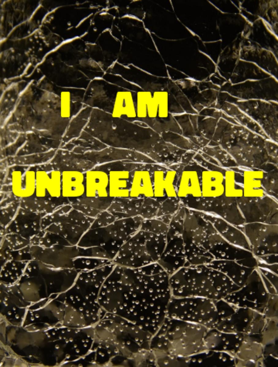 Poem: I Am Unbreakable