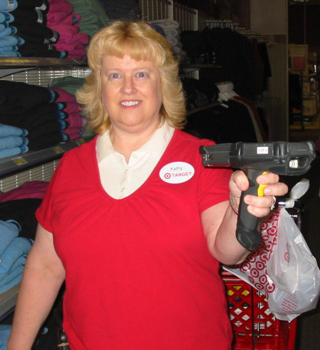 Yes, it was Target that I worked for