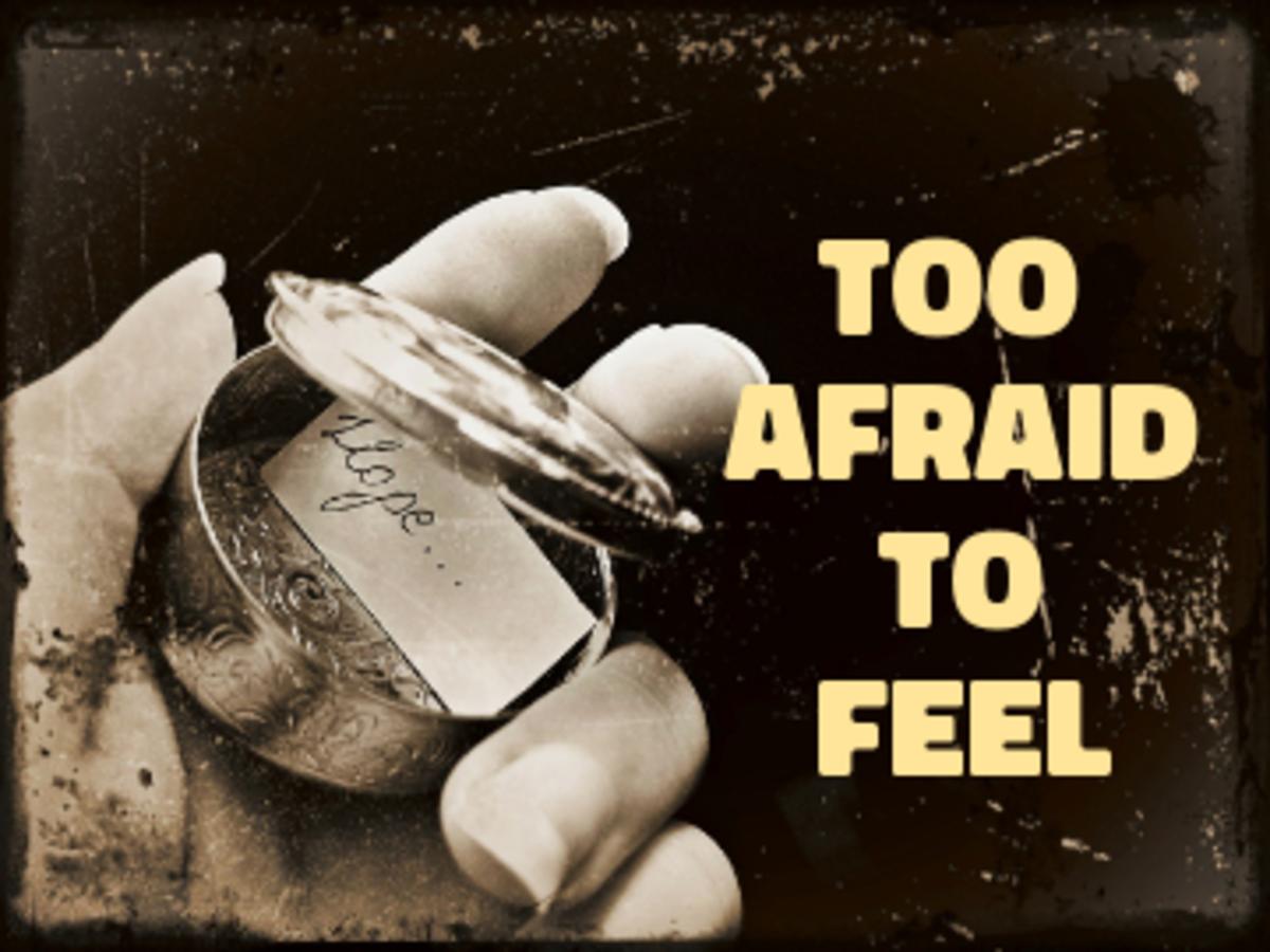 Poem: Too Afraid To Feel