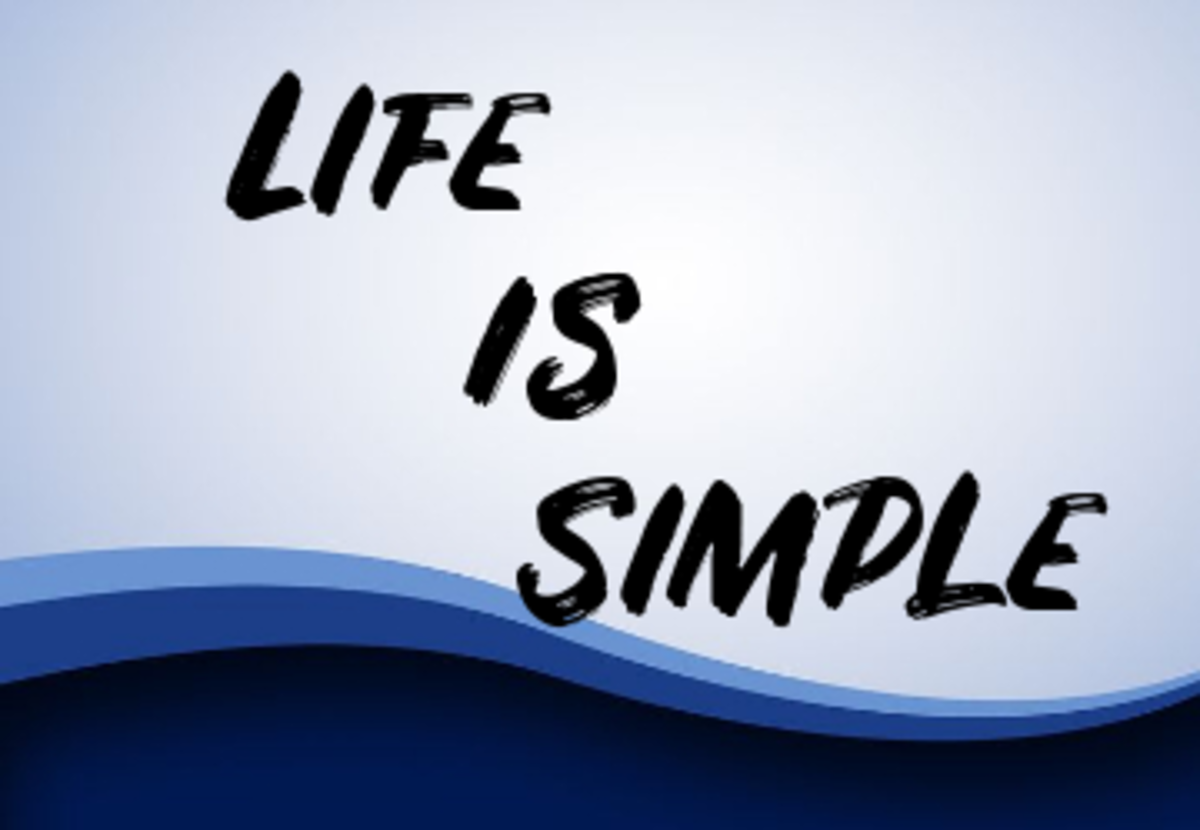 Poem: Life Is Simple