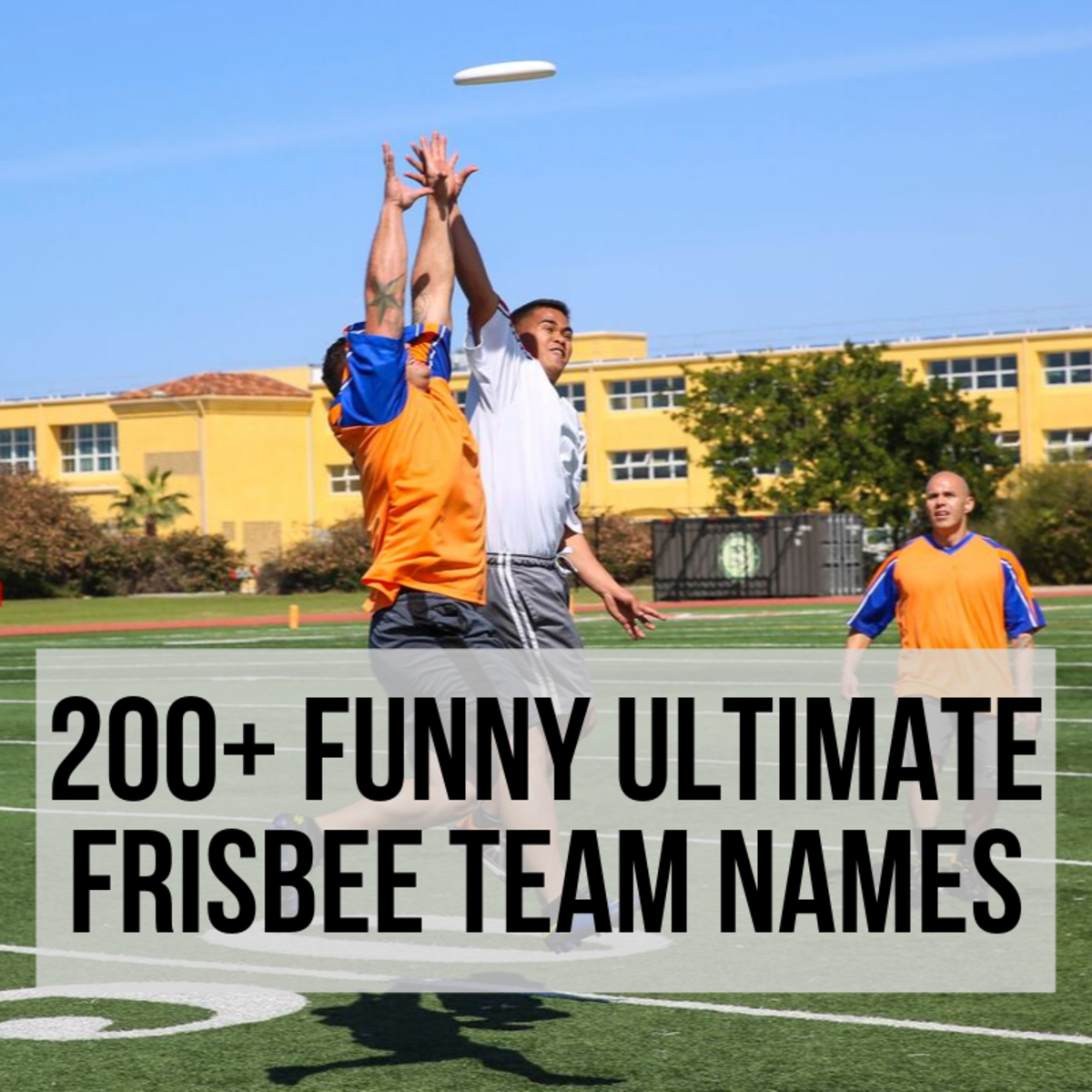 200+ Funny & Unique Ultimate Frisbee Team Names