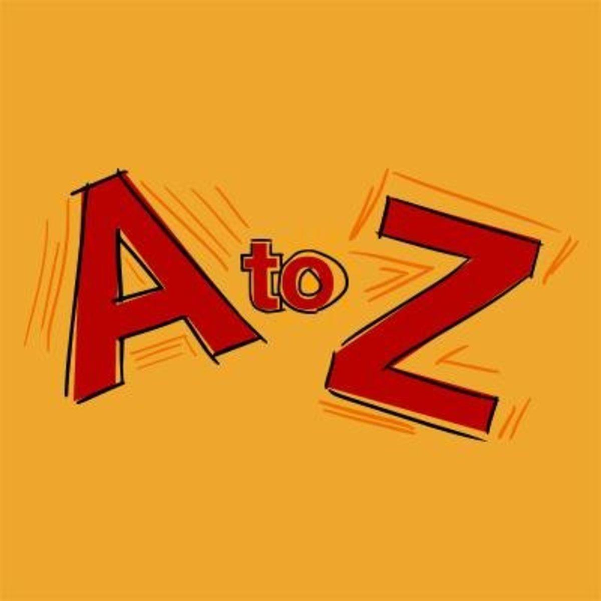 A to Z Abecedarian Challenge