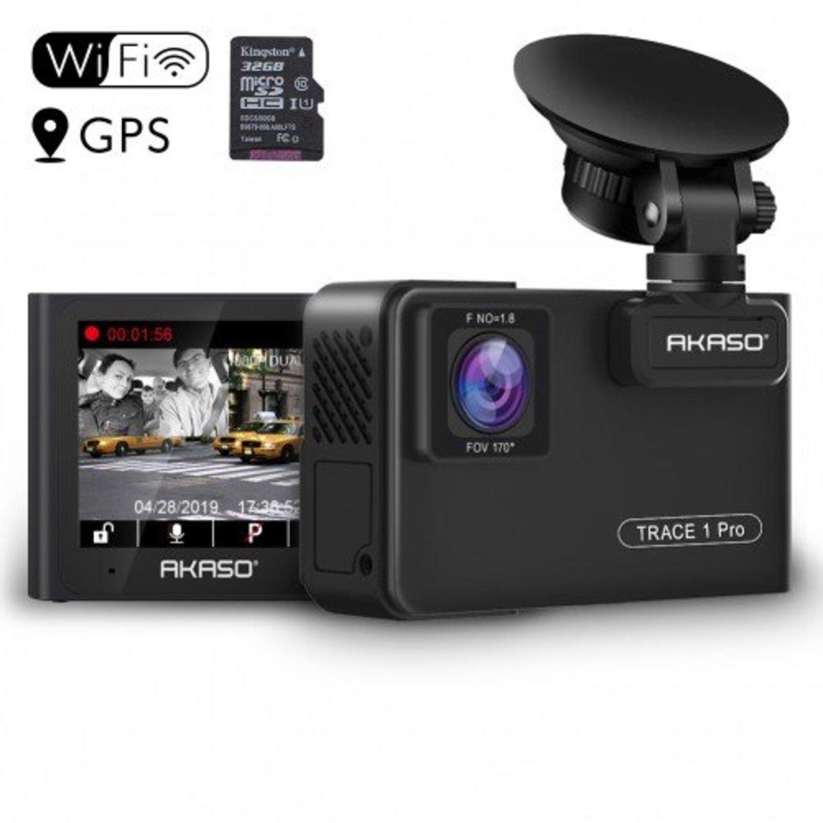 Akaso Trace 1 Pro Dash Cam Comprehensive Review
