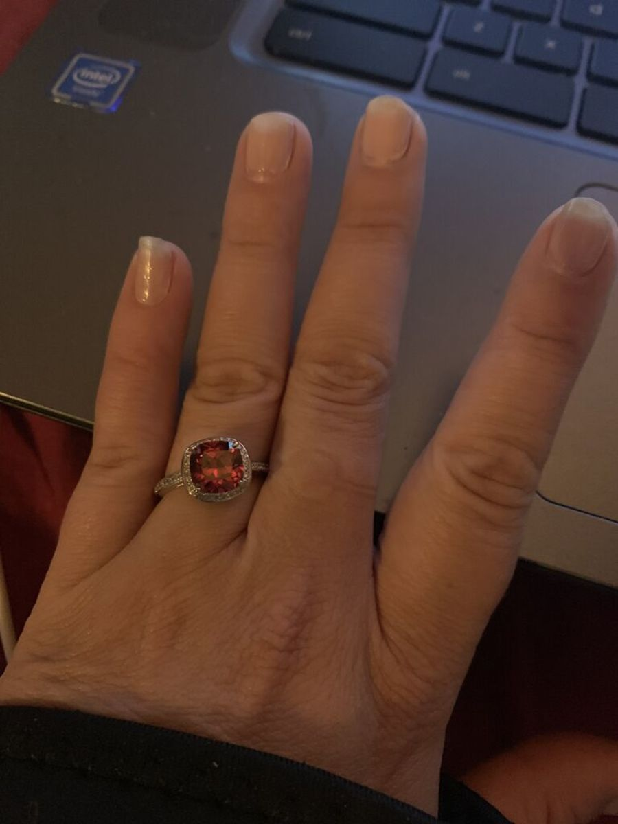 Ring from my Fragrant Jewels bath bomb