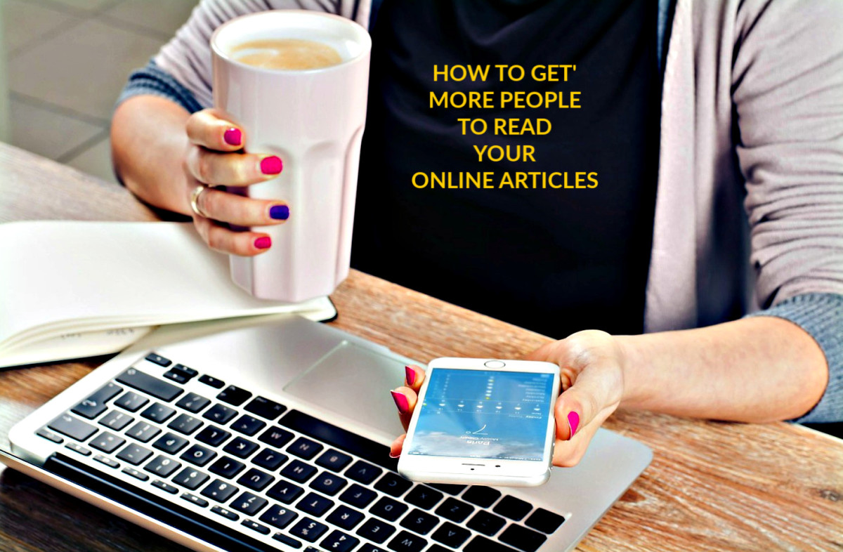 Tips to help you attract more readers for your online articles.