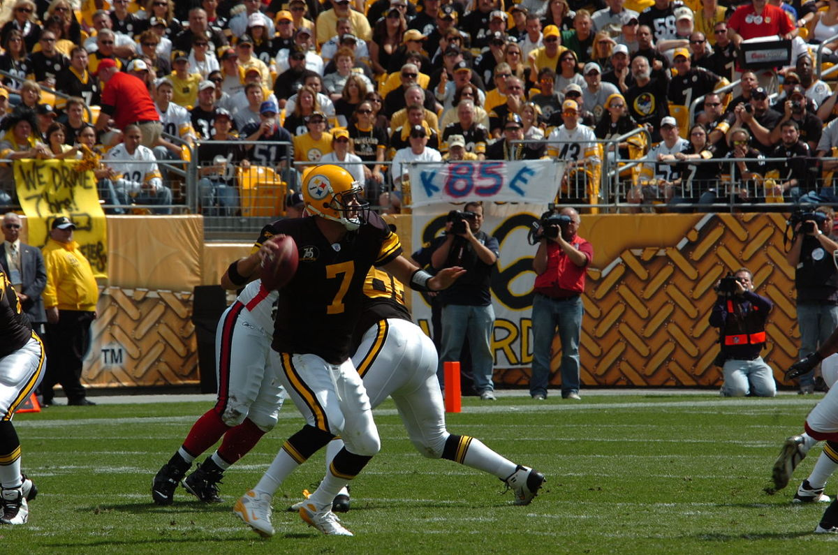 Quarterback Ben Roethlisberger is the Steelers' All-Time Leading Passer