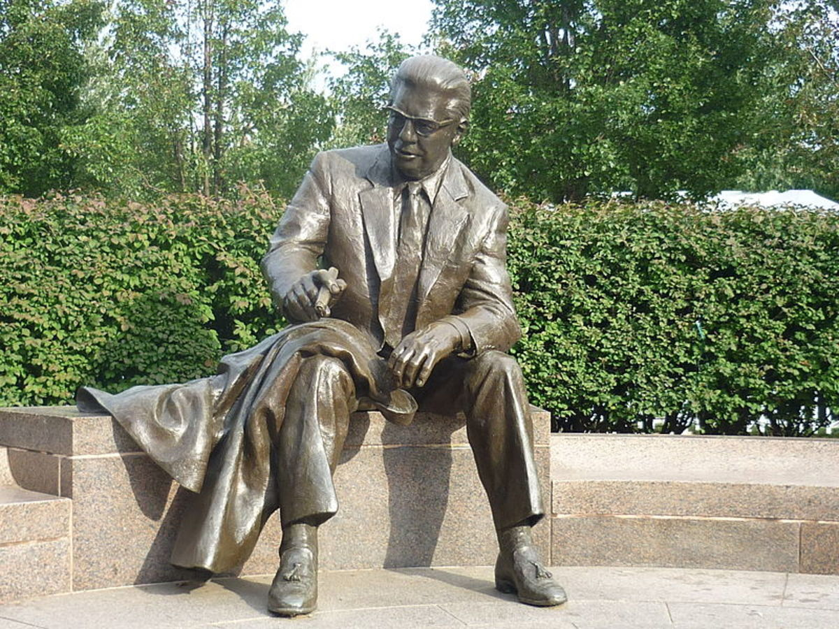 Arthur J. Rooney Statue at Heinz Field