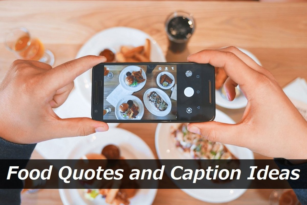 Food Quotes and Caption Ideas