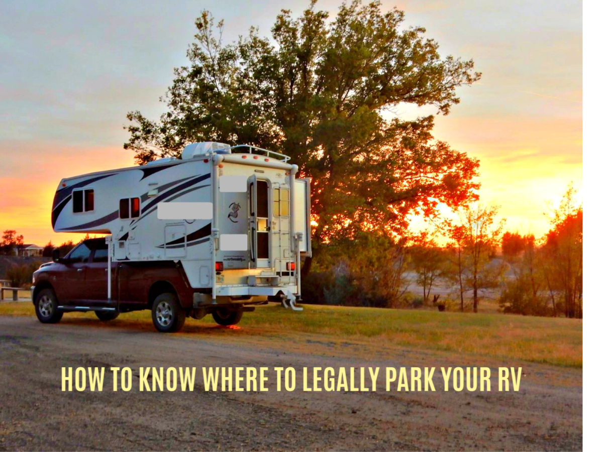 How to Know Where to Legally Park Your RV